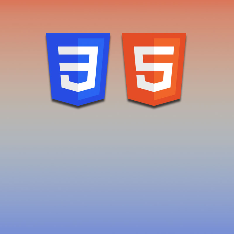 More fancy interface build with HTML5